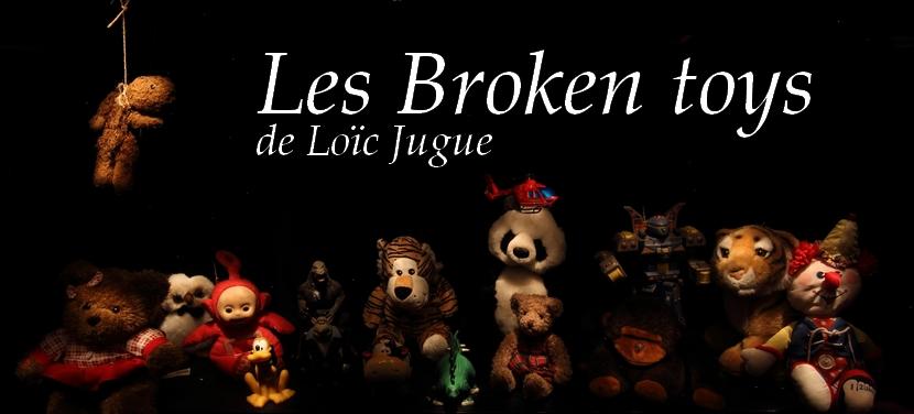 Loïc Jugue dossier de presse des Broken toys