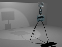 Le gardien de Loïc Jugue en 3D