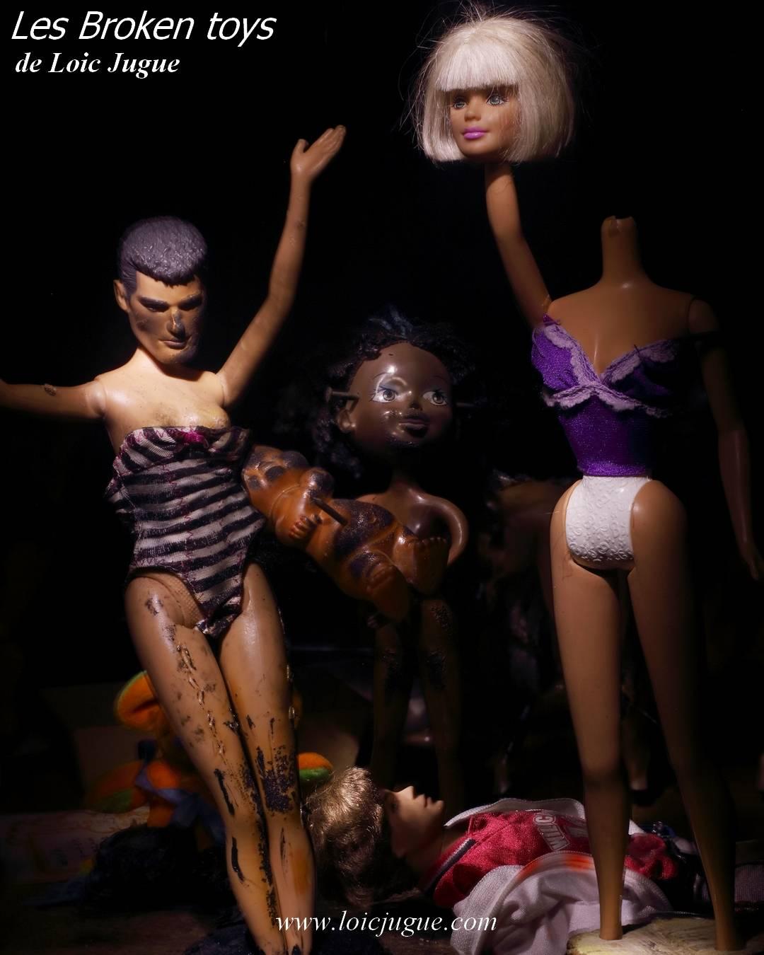 Les broken toys de Loïc Jugue: La révolte des jouets