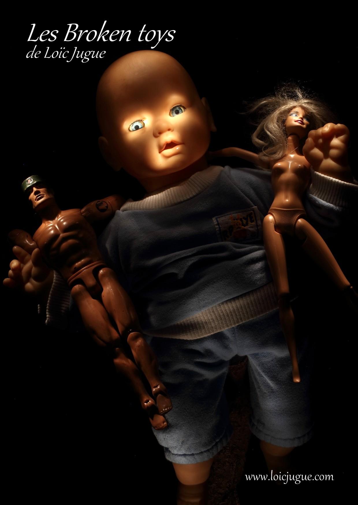 Les broken toys de Loïc Jugue:  L'avenir de l'humanité