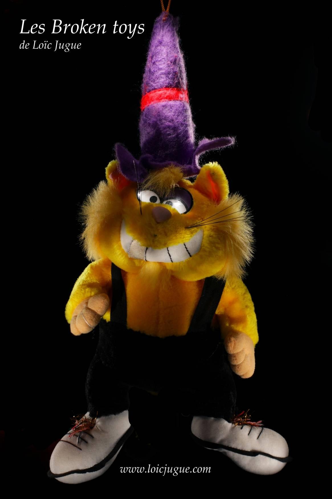 Les broken toys de Loïc Jugue:  La mascotte