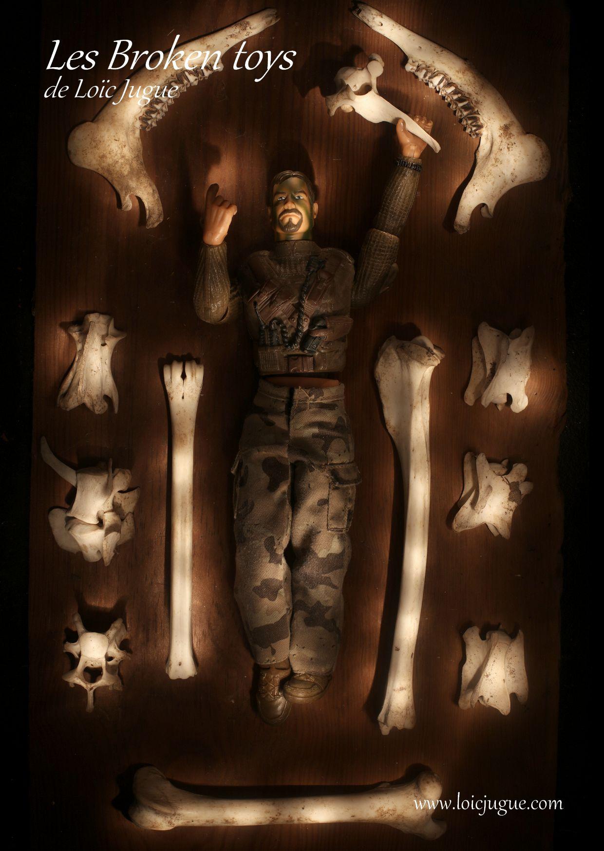 Les broken toys de Loïc Jugue:  Le chasseur