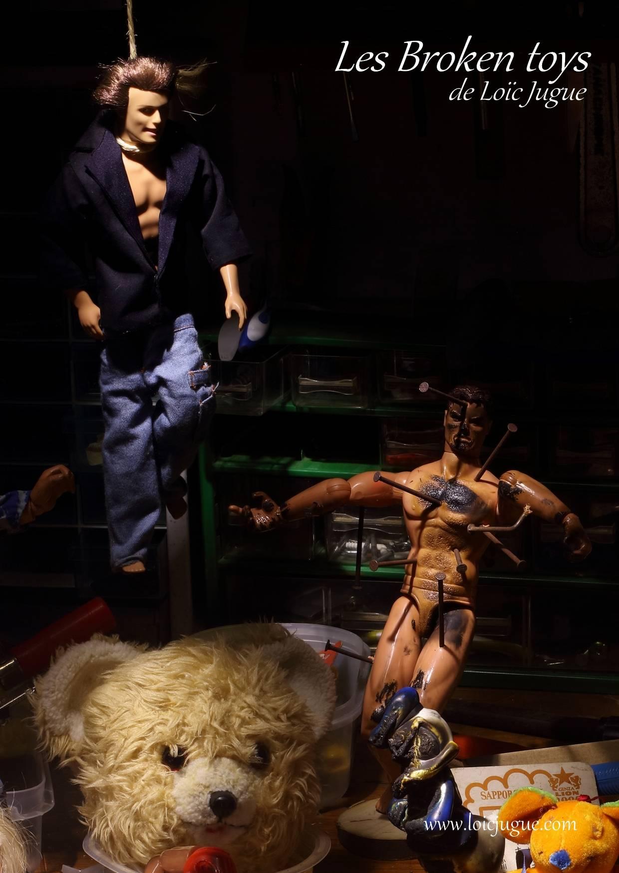Les broken toys de Loïc Jugue: Le pendu