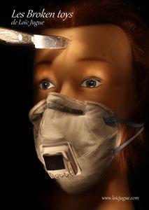 Les broken toys de Loïc Jugue: Est-ce grave docteur... Je tousse un peu?
