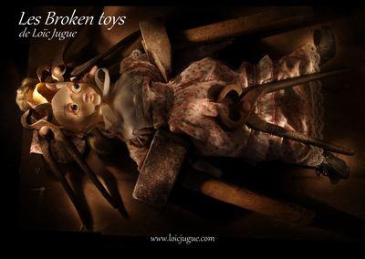 Les broken toys de Loïc Jugue: La leçon d'anatomie