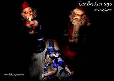 Les broken toys de Loïc Jugue:Et dire qu'il croyait au Père Noël!