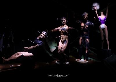 Les broken toys de Loïc Jugue: Photo de groupe